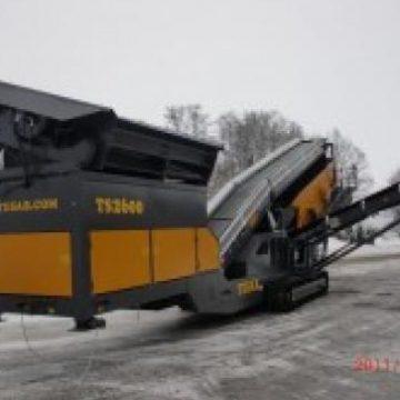 TESAB TS2600 MOBILE TRACKED SCREEN