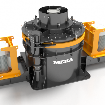 MEKA NEW VERTICAL SHAFT IMPACT CRUSHERS